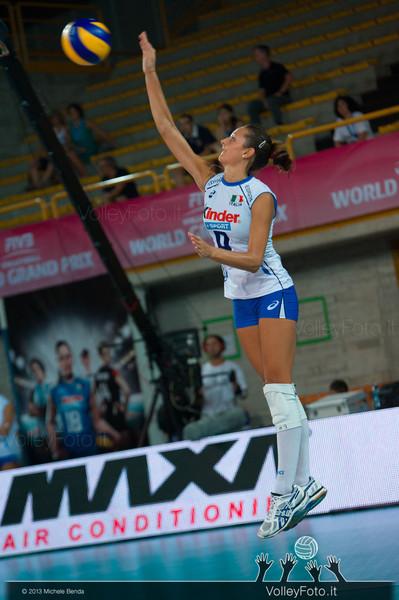 Caterina Bosetti [ITA] serve