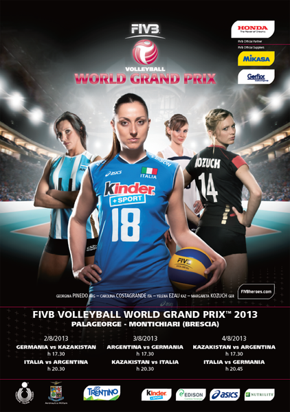 FIVB Volleyball World Grand Prix 2013 - Locandina Italiana