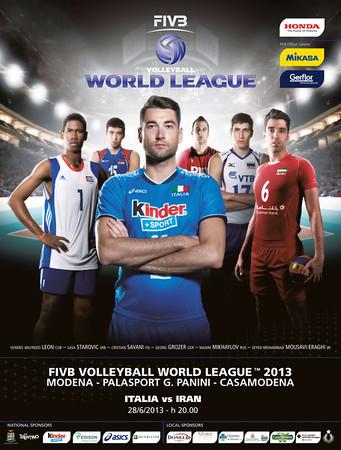 Locandina FIVB Men's Volleyball World League