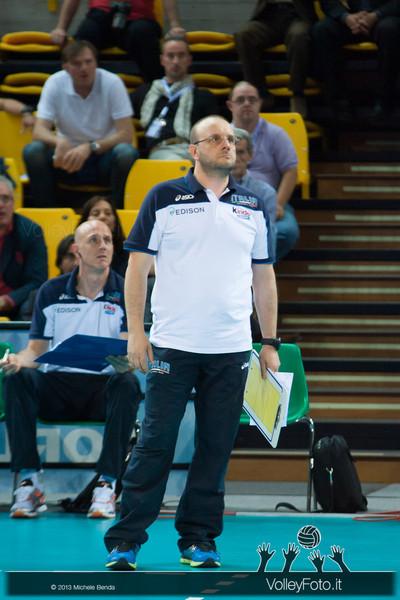 Mauro Berruto [ITA] - Italia-Iran, World League 2013 - Modena