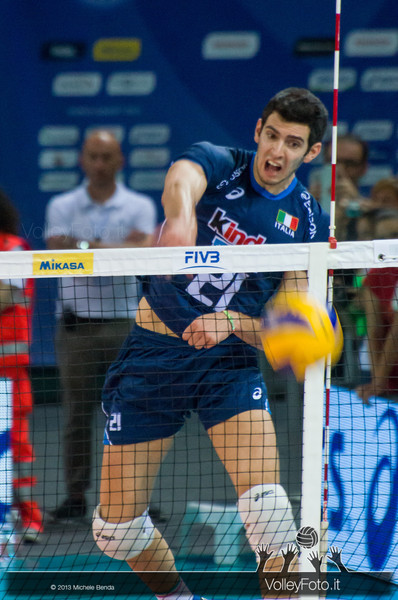 Michele Fedrizzi [ITA] - Italia-Iran, World League 2013 - Modena