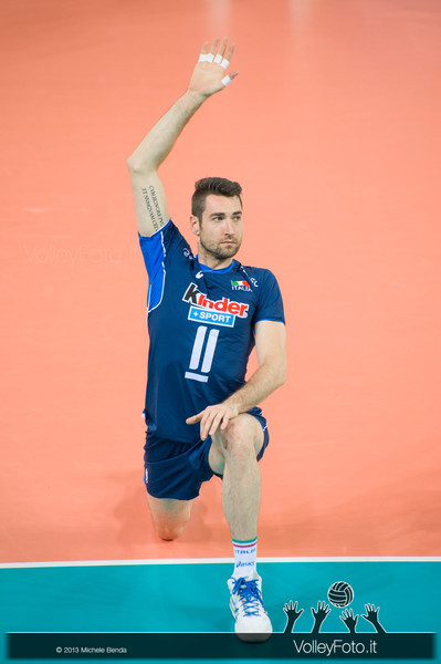 Cristian Savani [ITA] - Italia-Iran, World League 2013 - Modena