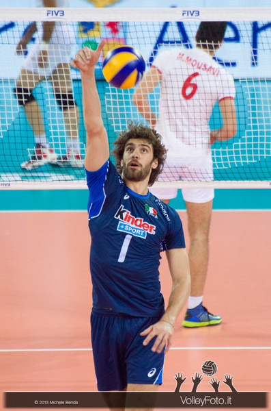 Thomas Beretta [ITA] - Italia-Iran, World League 2013 - Modena