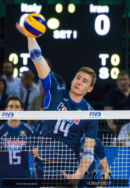 Matteo Piano [ITA] - Italia-Iran, World League 2013 - Modena