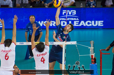 Cristian Savani [ITA] attacco - Italia-Iran, World League 2013 - Modena