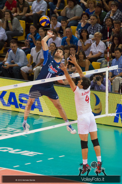 attacco Cristian Savani [ITA] - Italia-Iran, World League 2013 - Modena