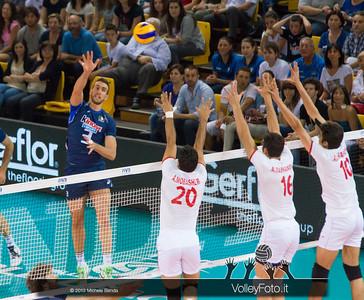 Simone Parodi [ITA] attacco - Italia-Iran, World League 2013 - Modena