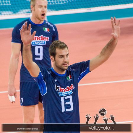 Dragan Travica [ITA] - Italia-Iran, World League 2013 - Modena