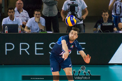 Cristian Savani [ITA] battuta - Italia-Iran, World League 2013 - Modena