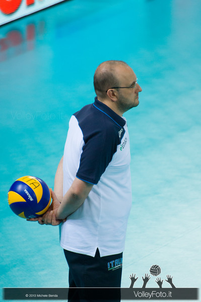 Mauro Berruto - Italia-Iran, World League 2013 - Modena