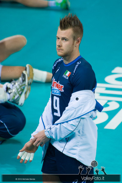 Ivan Zaytsev - Italia-Iran, World League 2013 - Modena