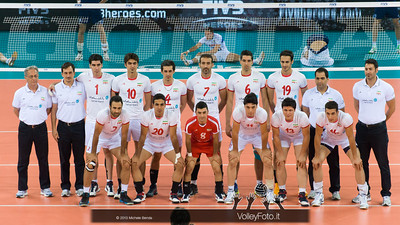 Iran, foto di squadra - Italia-Iran, World League 2013 - Modena