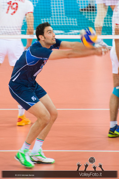 Emanuele Birarelli [ITA] - Italia-Iran, World League 2013 - Modena