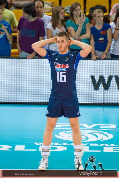 Michele Baranowicz [ITA] - Italia-Iran, World League 2013 - Modena