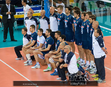 Italia, foto di squadra - Italia-Iran, World League 2013 - Modena