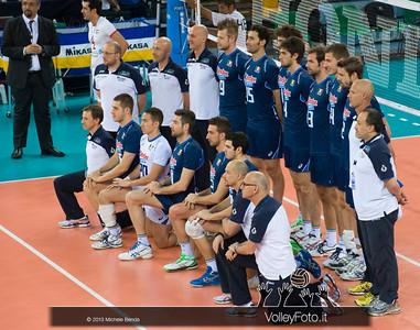 Italia, foto di squadra - Italia-Iran, World League 2013 - Modena