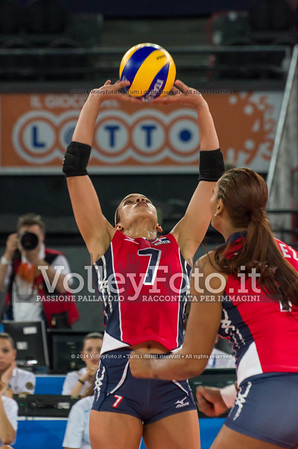 Niverka Dharlenis MARTE Frica, setting the ball