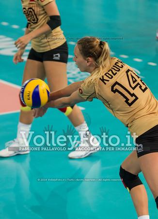 Margareta KOZUCH, receiving the ball