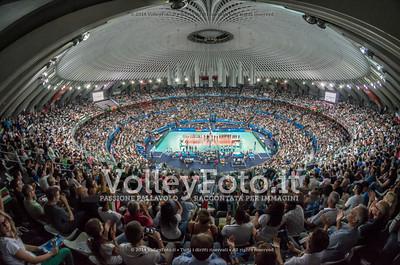 Il PalaLottomatica e gli 11.000 spettatori