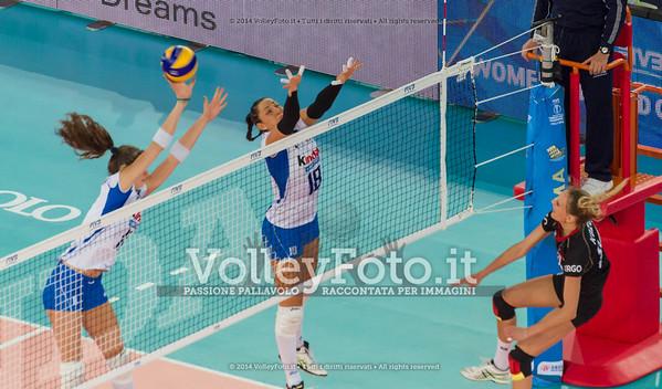 Cristina CHIRICHELLA, tocca la palla a muro
