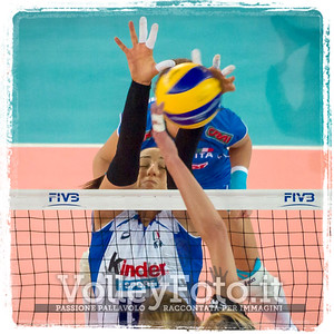 Italia-Germania. PalaLottomatica Roma, 27.09.2014.  FIVB Volleyball Women's World Championship Italy 2014 (photo: Michele Benda)