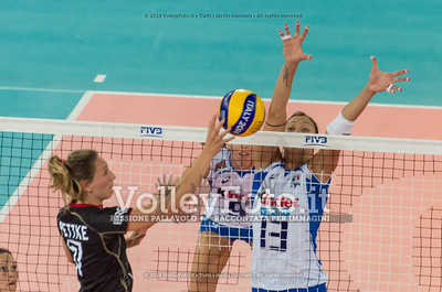 Jennifer PETTKE, attacks, Valentina ARRIGHETTI, block