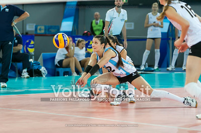 Tatiana Soledad RIZZO, receiving the ball