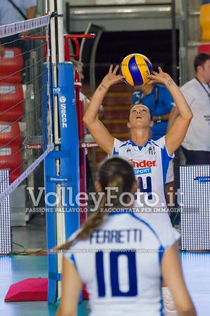 Eleonora Lo Bianco, palleggia, insieme a, Francesca Ferretti
