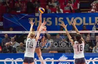Nataliya GONCHAROVA, attacks