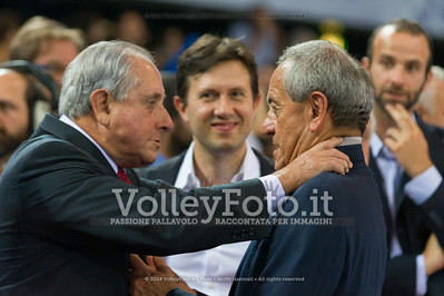 President of FIVB, Mr. Ary. S. Graça Fº, President of Italian Volleyball Federation, Mr. Carlo Magri
