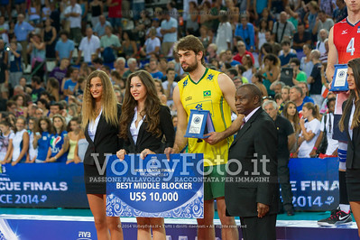 Lucas Saatkamp, BRA, Best middle blocker