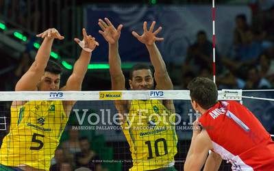 Matthew Anderson, attack, Sidnei Dos Santos Junior (Sidão), Ricardo Lucarelli Santos De Souza, block