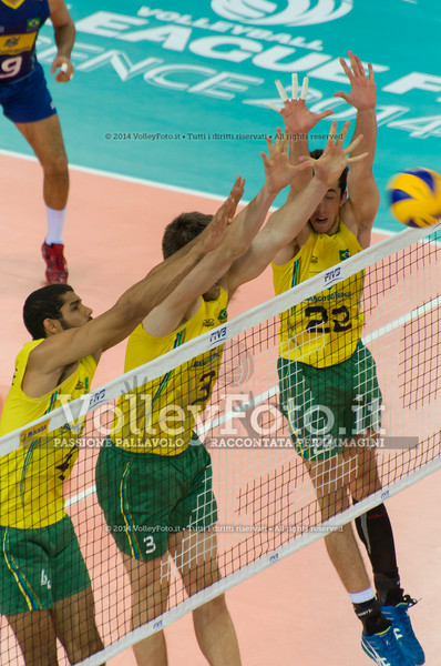 triple block, Brasile