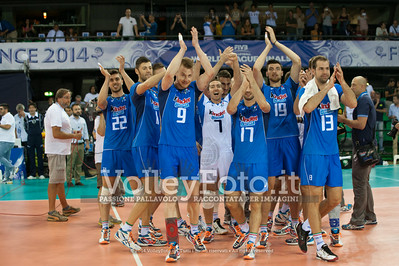 Italia, happiness for victory
