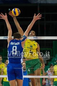 Wallace De Souza, attack, Denis Biriukov (Денис Бирюков), block