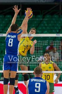 Bruno Mossa Rezende, attack, Denis Biriukov (Денис Бирюков), block
