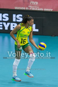 Fernanda Rodrigues, BRA, serve