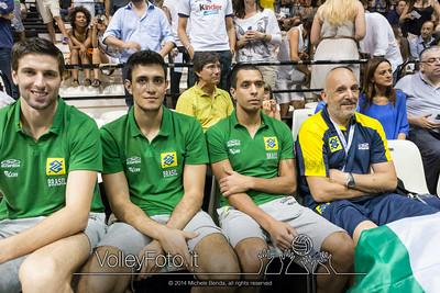 2014.06.08 ITA-BRA   World League 2014 Bologna