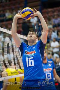 Michele Baranowicz, palleggio