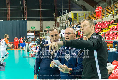 Ralph BARNSTORF, 1st Referee, Michail THEMELIS, 2nd Referee, Nicola Grbić