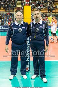 Ralph BARNSTORF, 1st Referee, Michail THEMELIS, 2nd Referee, Referees