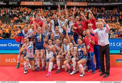RUSSIA - Gold Metal #EuroVolleyW