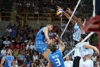 ITALIA - ARGENTINA, Amichevole Pala Olimpia Verona - 28 Agosto 2015. FOTO: ELENA ZANUTTO.