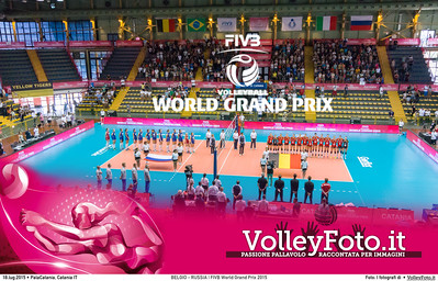BELGIO - RUSSIA | FIVB World Grand Prix 2015