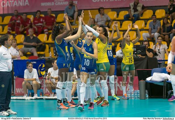 RUSSIA-BRASILE   FIVB World Grand Prix 2015
