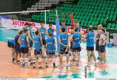 Azzurri, allenamento | FIVB World League 2015