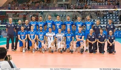 ITALIA, Nazionale maschile di pallavolo