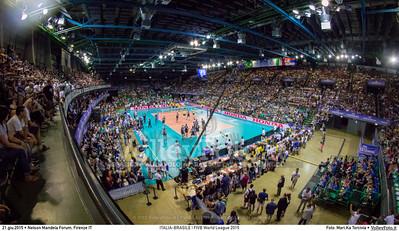 ITALIA-BRASILE   FIVB World League 2015