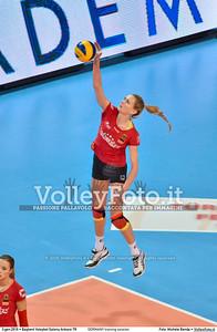 GERMANY training session 2016 European Olympic Qualification - Women | Başkent Voleybol Salonu Ankara, Türkiye, 03.01.2016 FOTO: Michele Benda © 2016 Volleyfoto.it, all rights reserved [id:20160103.MBQ_1090]