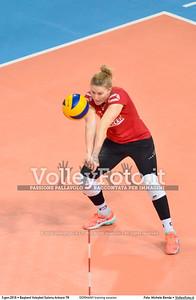 GERMANY training session 2016 European Olympic Qualification - Women | Başkent Voleybol Salonu Ankara, Türkiye, 03.01.2016 FOTO: Michele Benda © 2016 Volleyfoto.it, all rights reserved [id:20160103.MBQ_1135]